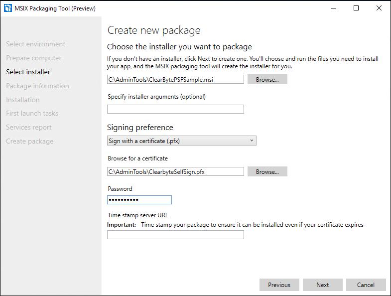 Microsoft Store Installationspfad